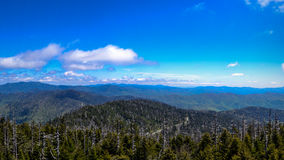 Smoky Mountains Vista Stock Images