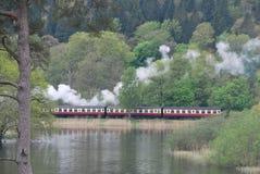 Smoky steamer Royalty Free Stock Photos