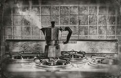 A smoldering coffee Royalty Free Stock Photo