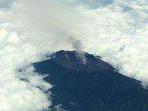 Volcano. Smoldering volcano Bali Indonesia royalty free stock images