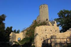 Smolen castle ruins poland. royalty free stock photos