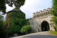 Smolenice城堡 库存照片