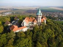 Smolenice castle, Slovakia Royalty Free Stock Photo