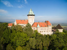 Smolenice castle, Slovakia Royalty Free Stock Images