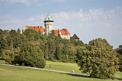 Smolenice castle - west Slovakia Royalty Free Stock Photo