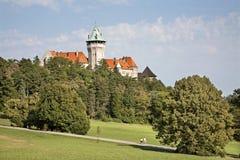 Smolenice castle - west Slovakia Royalty Free Stock Photo