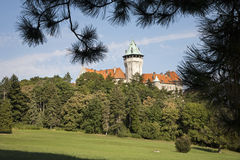 Smolenice castle - west Slovakia Royalty Free Stock Image