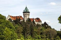 Smolenice-Schloss, Kongresszentrum des Dämpfungsreglers - aufgebaut im 15. Jahrhundert lizenzfreie stockbilder