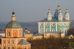 Smolensk Cathedral Stock Photography
