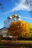 Smolensk Cathedral of the Novodevichy Convent, Moscow, Russia Royalty Free Stock Photos