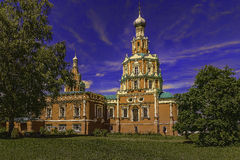 Smolensk Church. Beautiful places of Moscow suburbs Stock Photography