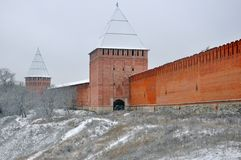 Smolensk Fortress Stock Photography