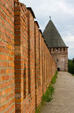 Smolensk fortress wall Stock Photos