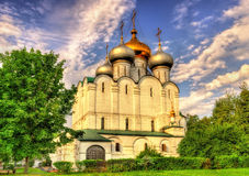 Smolensk-Kathedrale von Novodevichy-Kloster, ein UNESCO-Standort in Mosc Stockfotos