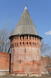 The Smolensk Kremlin tower royalty free stock image