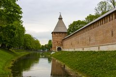 Smolensk Kremlin Royalty Free Stock Image
