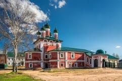 Smolensk kyrka royaltyfria foton