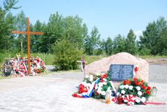 Smolensk memorial royalty free stock image