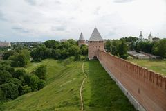 Smolensk, on of the oldest Russian cities Royalty Free Stock Image