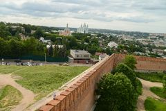 Smolensk, on of the oldest Russian cities Royalty Free Stock Images