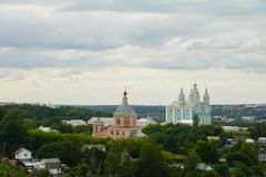 Smolensk, on of the oldest Russian cities Stock Image