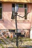 SMOLENSK ROSJA, MAJ, - 03, 2018: Lampiony w parku w dla Fotografia Royalty Free