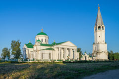 Smolenskaya church in Vyezdnoye. Russia. Arzamassky District. Royalty Free Stock Photo
