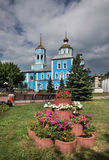 Smolensky Cathedral in Belgorod. Russia Royalty Free Stock Photography