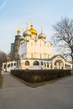 Smolensky Cathedral in Novodevichy Convent, Moscow. Royalty Free Stock Photo