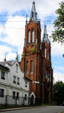 Smolensky Church. The old building of the city of Smolensk. Church Stock Image