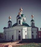 Smolensky church uglich Royalty Free Stock Photo