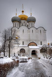 Smolensky Orthodox cathedral Royalty Free Stock Images