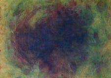 Smoli zatartego wodnego colour tło na szorstkiej powierzchni zdjęcie stock