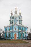 Smolniy Cathedral Royalty Free Stock Photo