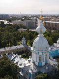 Smolny cathedral Stock Images