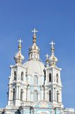 Smolny Cathedral Royalty Free Stock Photos