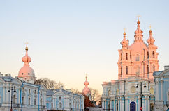 Smolny Cathedral Stock Image