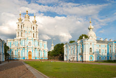 Smolny cathedral in Saint-Petersburg Stock Photography