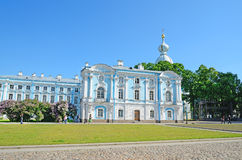 Smolny Cathedral in St-Petersburg, Russia Royalty Free Stock Image