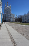 Smolny Cathedral Royalty Free Stock Photography