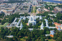 Smolny convent Royalty Free Stock Photos