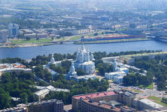 Smolny convent Stock Images