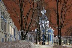 Smolny Convent Stock Photo