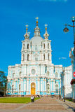 Smolny Convent of the Resurrection Royalty Free Stock Photography