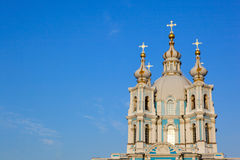 Smolny Convent Royalty Free Stock Photography