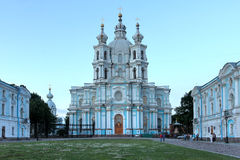 Smolny Convent, Saint Petersburg, Russia Royalty Free Stock Photo