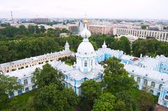 The Smolny Institute Royalty Free Stock Images