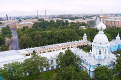 The Smolny Institute Royalty Free Stock Photos