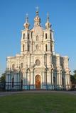 Smolny katedra Zdjęcie Royalty Free