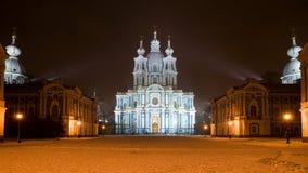 Smolny Kathedrale Stockfoto